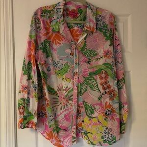 EUC Lilly Pulitzer for Target blouse, 2x
